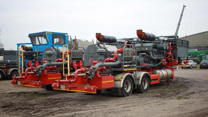 Frac Pumping Unit 2250 BHP 2