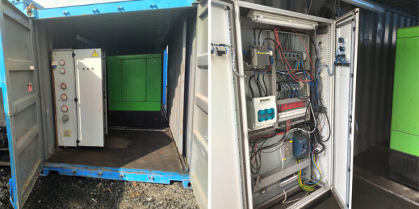 Generator Container for sale in Europe 1