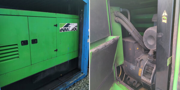 Generator Container for sale in Europe 2