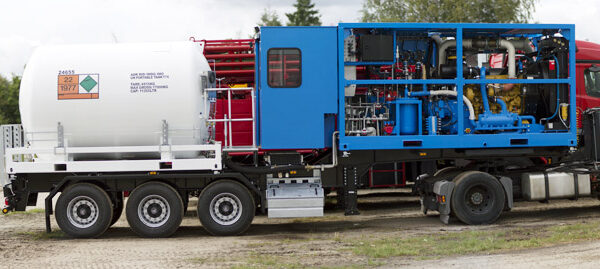 N2 Pumping Unit for sale in Europe 1