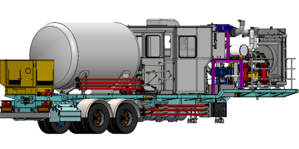Trailer Mounted N2 Pumping unit for sale in Europe 2