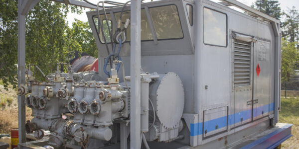 Twin Pump Skid for sale in Europe 1
